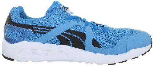 Puma - Zapatillas de deportivo para hombre, tamaño 47 UK, color gris Vivid Blue-Blac (Vivid Blue-Blac)