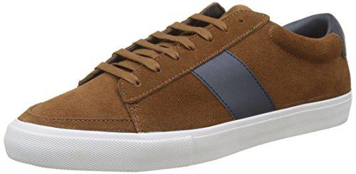 Jim Rickey Gusten, Sneaker Alte Uomo Marron (Chocolate/Navy)