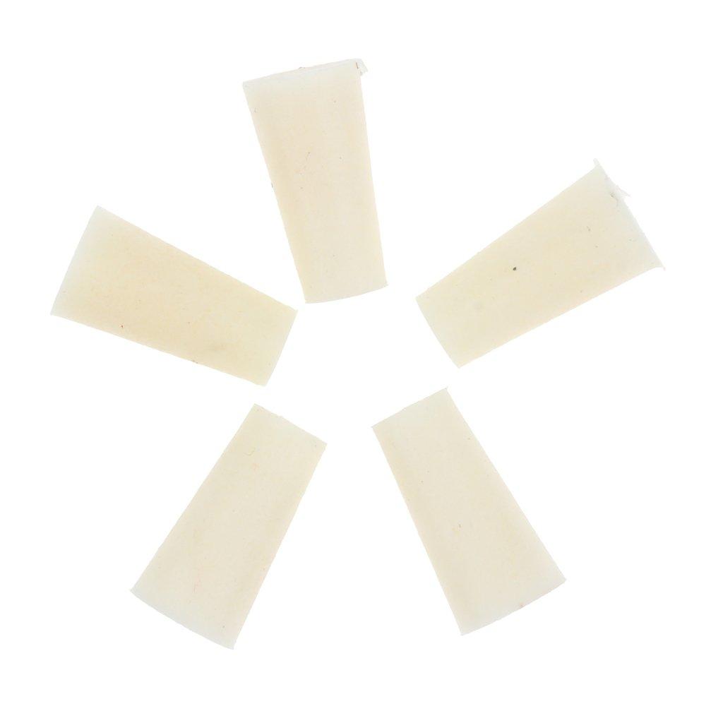 Sharplace Bouchage en Caoutchouc Bouchon pour Tubes à Essai 5pcs - 9-13mm