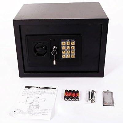 "Mefeir 9""Electronic Digital Security Safe Box Keypad Lock, Home Office Hotel Jewelry Gun Cash Use Storage"
