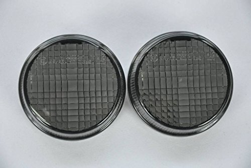 Smoked Motorcycle Indicators Turn Signal Lens For Honda 97-00 All Cruisers (Except Spirit 1100/Shadow Ace Tourer/Magna