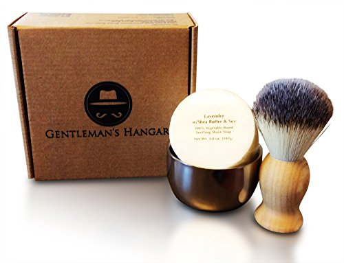 gentleman 39 s hangar men 39 s vintage shaving soap kit my beard shop t. Black Bedroom Furniture Sets. Home Design Ideas