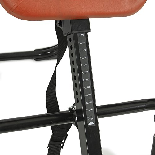 Gym Equipment Khobar: Akonza Pro Deluxe Inversion Table Exercise Back