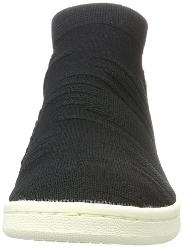 adidas Damen Stan Smith Sock Primeknit Sneaker Schwarz (Core Black/Core Black/Footwear White)