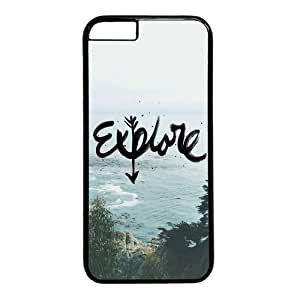 """Explore Beach View Case for iPhone 6 Plus (5.5"""") PC Material Black by ruishername"""