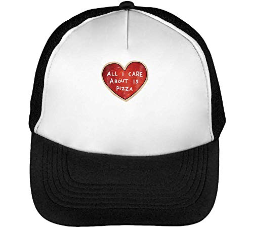 I Pizza Hombre Negro Gorras Care Blanco Snapback About Is Beisbol rqpxrtA4