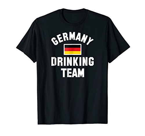 Germany drinking team shirt for Germany beer festivals