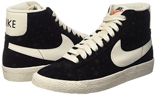 Nike Women's Blazer Mid Suede Vintage Black/White 518171-015 (SIZE: 8) by NIKE (Image #5)