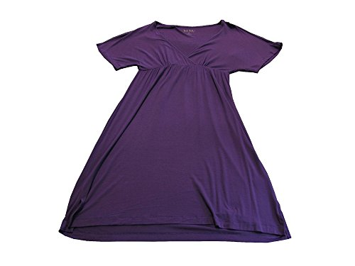 nicole-miller-new-york-ladies-size-medium-dolman-day-dress-purple