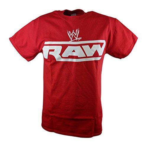 WWE Monday Night Raw Mens Red T-Shirt-XL