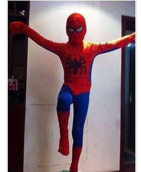 ZYFDFZ Traje de Cosplay de Spiderman Medias elásticas ...