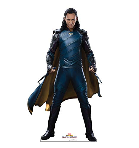 Advanced Graphics Loki Life Size Cardboard Cutout Standup - Thor: Ragnarok (2017 Film) -