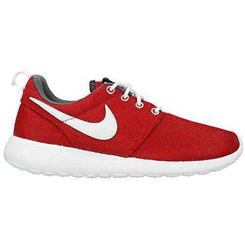 Nike Giovani Roshe Uno (palestra Rosso / Bianco / Grigio Scuro) (3,5 M Ci Bambinone)