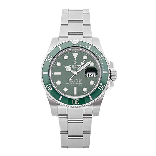 Rolex Submariner Mechanical (Automatic) Green Dial Mens Watch 116610LV (Certified Pre-Owned)