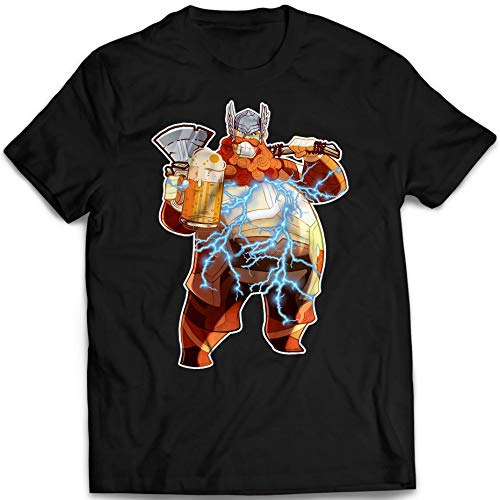(Fat-Thor Funny End Beer Drinking Drunk Game Lightening Customized Handmade T-shirt Hoodie/Sweater/Long Sleeve/Tank Top/Premium T-shirt)