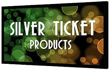 Silver Ticket Pantalla para proyector de cine, 4K, Ultra HD, marco ...