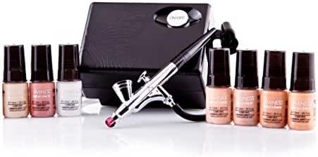Luminess Air Basic Airbrush System with 7-Piece Airbrush Foundation & Cosmetic Starter Kit, Shade Fair
