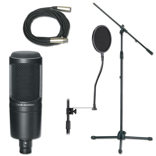 Professional Studio Mic Stand And Cable Package Mic Stand Package by PSSL