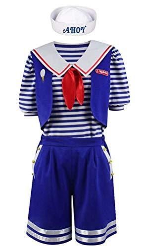Womans Robin Costume (ugoccam Robin Scoops Ahoy Halloween Costume Adult Popular TV Cosplay Women)