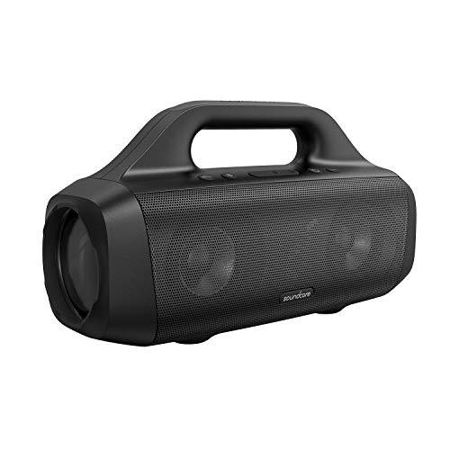 Anker Soundcore Motion Boom-buitenspeaker met titanium drivers, BassUp-technologie, IPX7-waterdicht, 24u speeltijd…