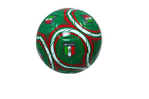 Mexico Soccer Team Authentic Official Licensed Soccer Ball Size 2 (Youth) -001