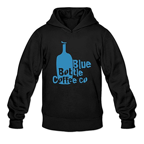 HEDONE Men's Blue Bottle Coffee Hoodie Black XL (Blue Bottle Coffee Book compare prices)