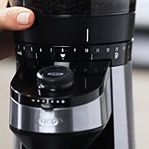 OXO 8710200 On Conical Burr Coffee Grinder with Integrated Scale