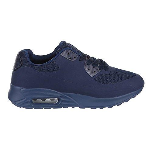 Ital-Design - Zapatillas de Material Sintético para mujer 49 Azul - azul oscuro
