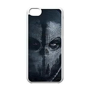 Iphone 5C 2D Customized Hard Back Durable Phone Case with Call of Duty Ghosts Image