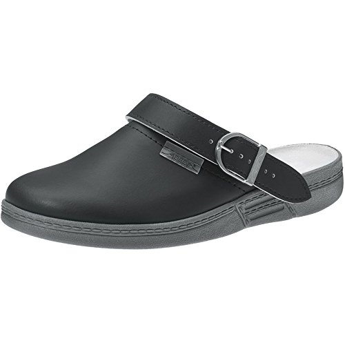 "Abeba 7031-36 Size 36"" The Original Occupational-Clog Shoe - Black"
