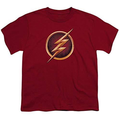 - Popfunk The Flash Distressed Logo T Shirt (X-Large) Cardinal