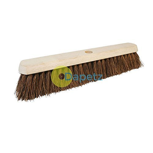 Dapetz ® Broom Stiff Bassine 457mm (18') Compatible with 29mm (1-1/8') Dia Use Outdoors