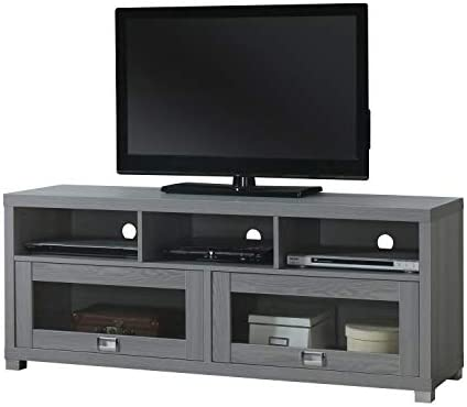 Techni Mobili Durbin 57 TV Stand in Gray