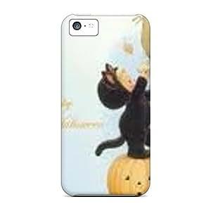 Excellent Design Happy Halloween Phone Case For Iphone 5c Premium Tpu Case