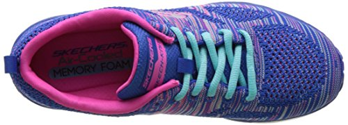 Blue Trainers Textile Out Air Hot Infinity Stand Skech Skechers Pink Womens 8wqPnx4nF