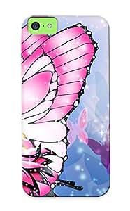 Iphone 5c Case Bumper Tpu Skin Cover For Papel De Parede Barbie Borboleta Accessories by lolosakes