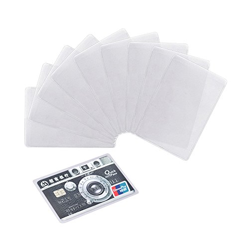 894483b79749 Honbay 20PCS Transparent Plastic Vertical ID Credit Card - Import It All