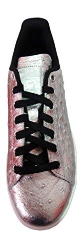 adidas Stan Smith, Zapatillas para Hombre SILVMT/SILVMT/FTWWHT AQ4706