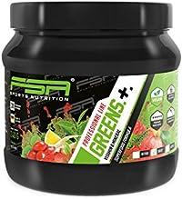 Greens Pulver vegan der deutschen Profisport Marke FSA Nutrition®   Multivitamin - Vitamine & Mineralien   Superfood u.a. mit Gerstengras, Spirulina, Acerola und Astaxanthin   240g