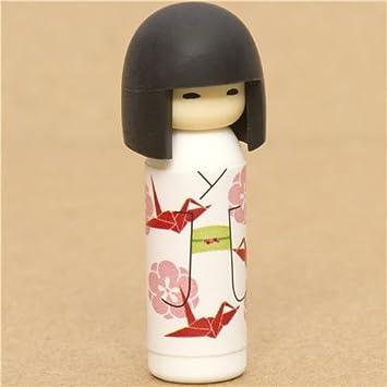 """Goma de borrar muñeca japonesa """"kokeshi"""" ..."""