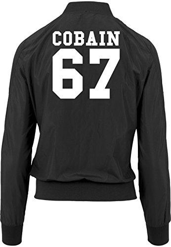 Girls Vest 67 Cobain Bomber Certificado Freak Black FnZFtxpSEW