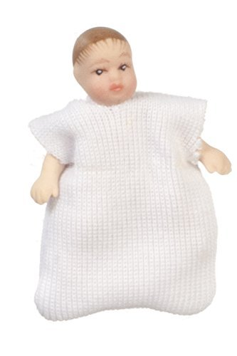 Used, Dollhouse Miniature Porcelain Baby G7638 for sale  Delivered anywhere in USA