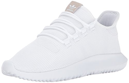 adidas Originals Men's Shoes | Tubular Shadow Sneaker, White/Black/White, (10 Medium US)