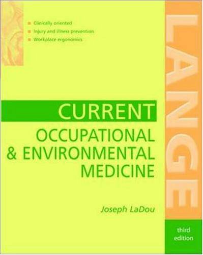 Current Occupational & Environmental Medicine (Lange Medical Books)