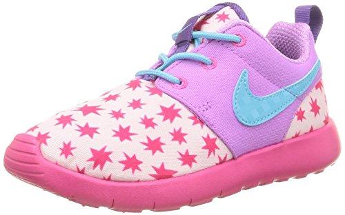 Nike Roshe One Print (PS) Zapatillas de deporte, Niñas Rosa / Azul (Prsm Pnk / Td Pl Bl-Fchs Glw-Pnk)