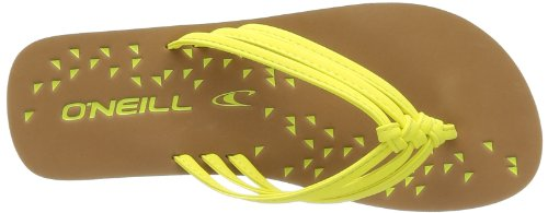 ONeill FTW DITSY 409542 Damen Zehentrenner Gelb (New Safety Yellow 2011)