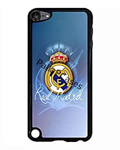 Ipod Touch 5th Case La Liga Real Madrid Team Logo, Amazing Ipod Touch 5th Cover [Scratch Proof]