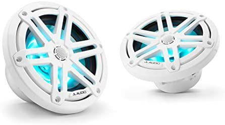 JL Audio MX650-CCX-CG-WH 6.5 120W RMS Marine Coaxial Speakers