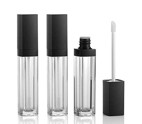 3PCS 10ml Empty Square Lip Gloss Tube Plastic