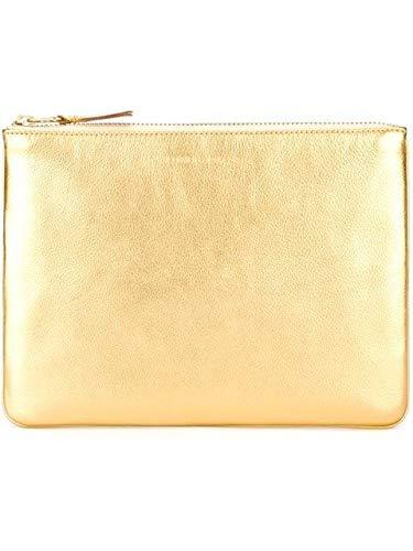 Comme Des Garçons Women's SA5100G gold Leather Wallet